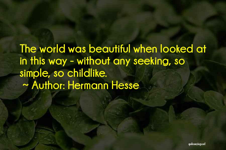This Beautiful World Quotes By Hermann Hesse