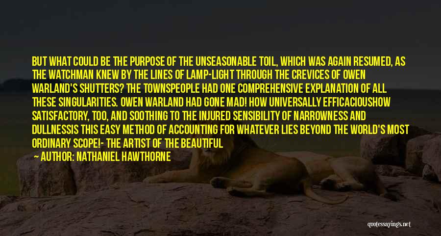 This Beautiful World Quotes By Nathaniel Hawthorne