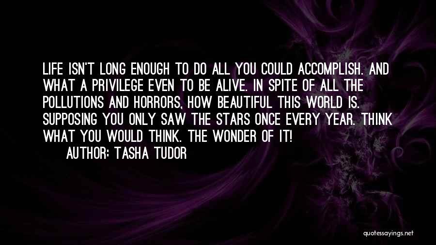 This Beautiful World Quotes By Tasha Tudor
