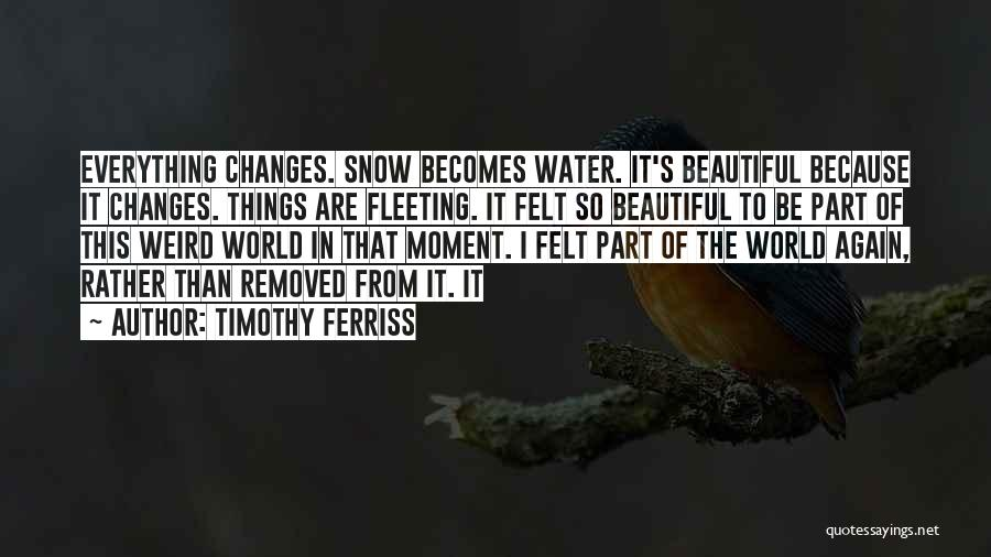 This Beautiful World Quotes By Timothy Ferriss