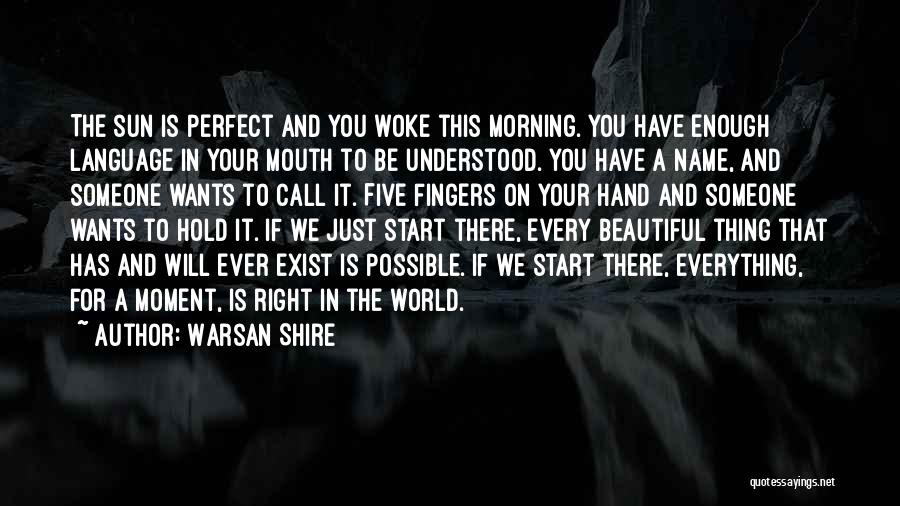 This Beautiful World Quotes By Warsan Shire