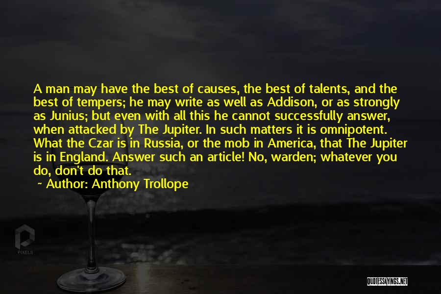 This Is England Best Quotes By Anthony Trollope