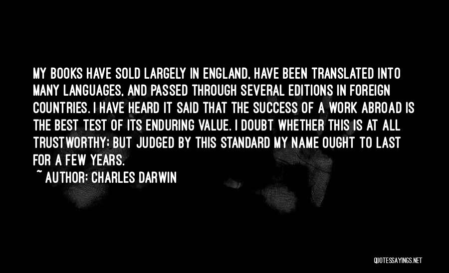 This Is England Best Quotes By Charles Darwin