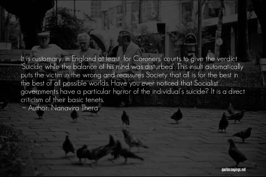 This Is England Best Quotes By Nanavira Thera