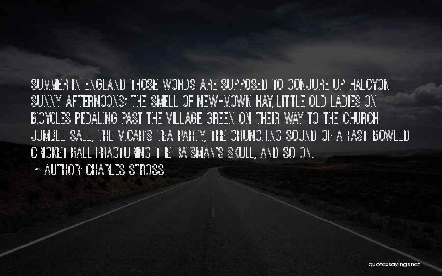 This Is England Smell Quotes By Charles Stross