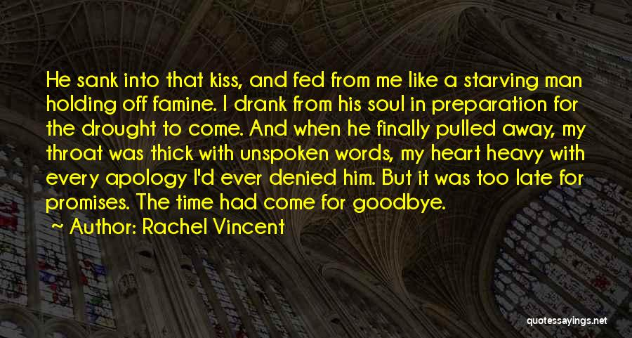 This Is My Goodbye Quotes By Rachel Vincent