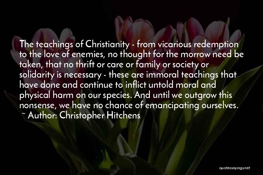 This Is Our Family Quotes By Christopher Hitchens