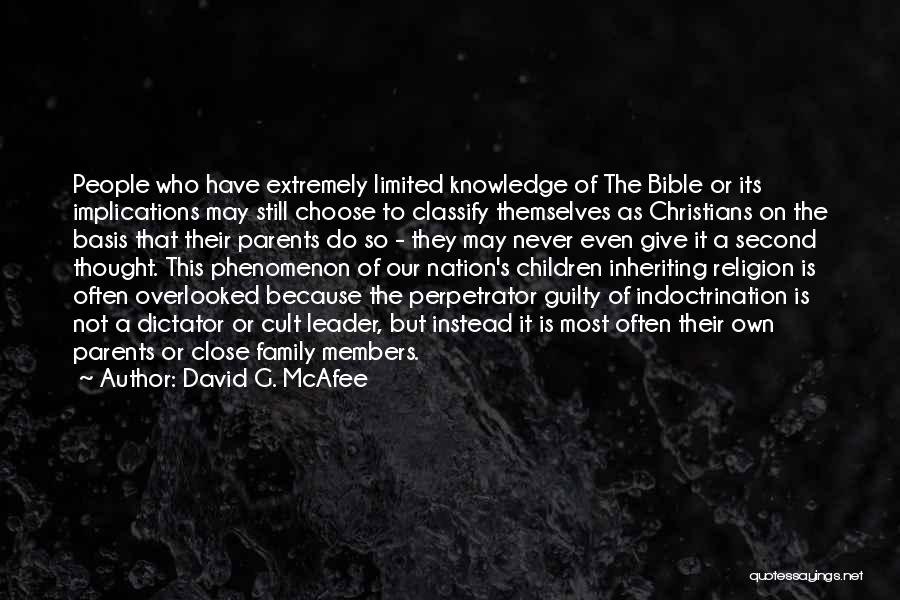 This Is Our Family Quotes By David G. McAfee