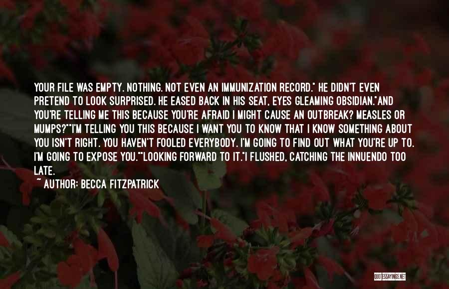 This Isn't Right Quotes By Becca Fitzpatrick