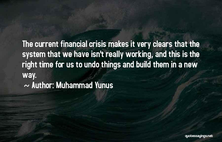 This Isn't Right Quotes By Muhammad Yunus