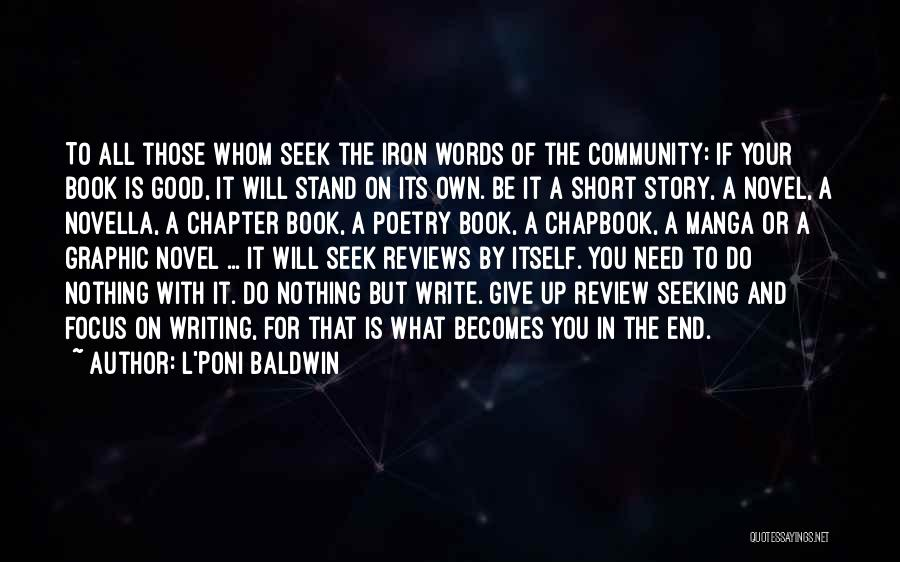 This Life Is Short Quotes By L'Poni Baldwin