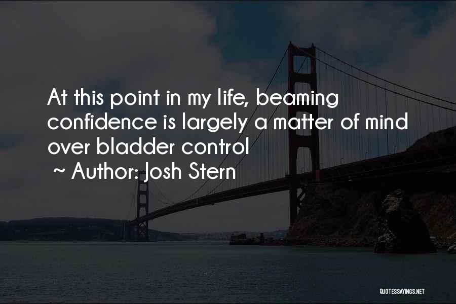 This Point In My Life Quotes By Josh Stern