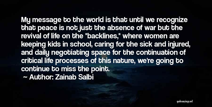 This Point In My Life Quotes By Zainab Salbi
