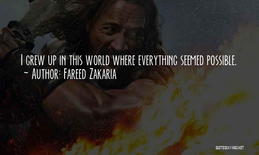 This World Quotes By Fareed Zakaria