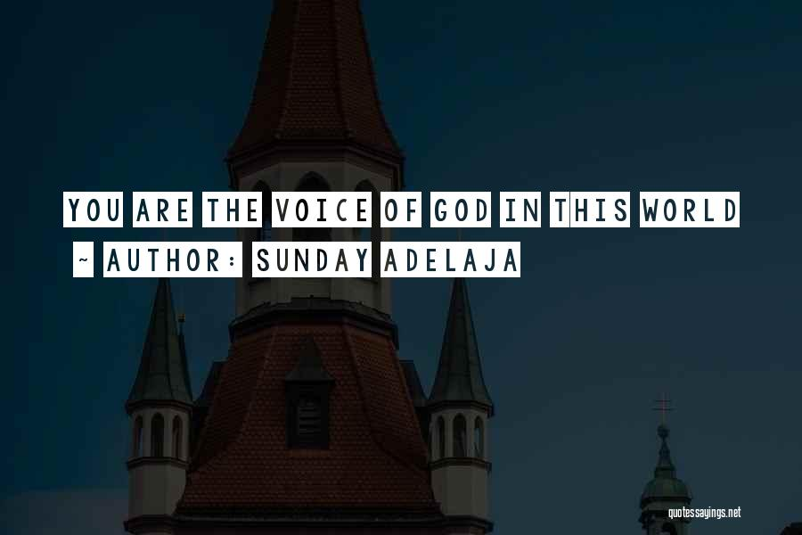 This World Quotes By Sunday Adelaja