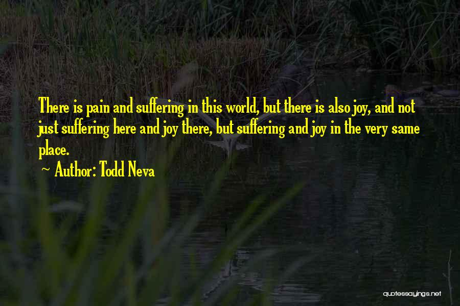 This World Quotes By Todd Neva