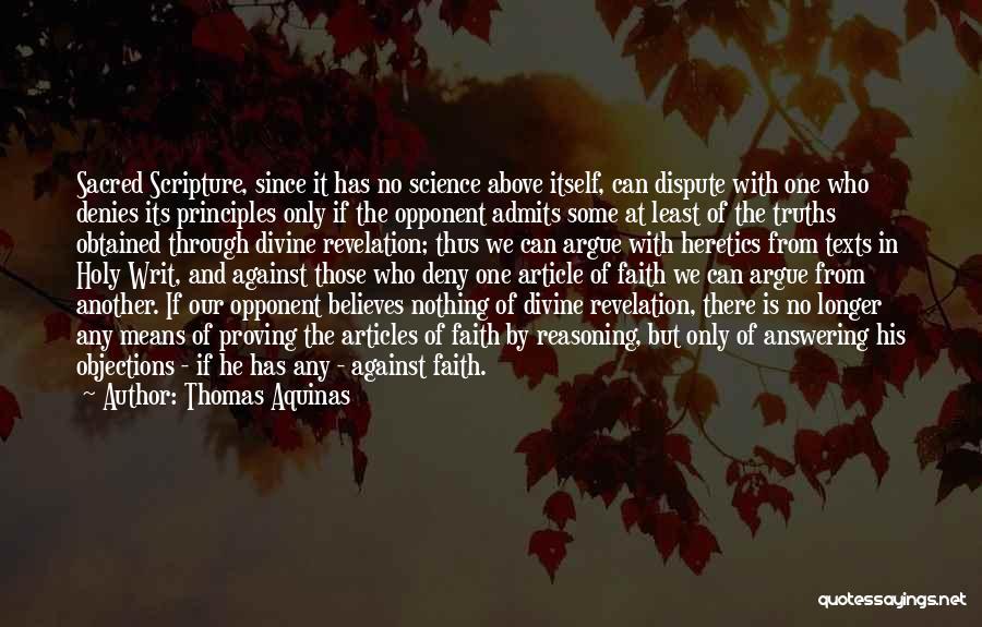 Thomas Aquinas Quotes 1730484