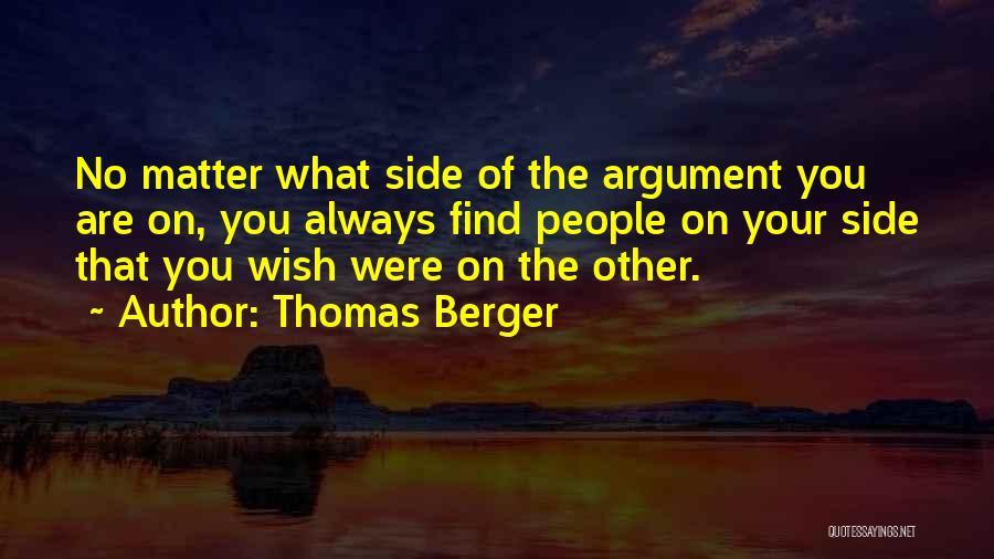 Thomas Berger Quotes 1251880