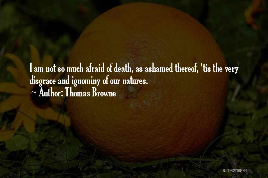 Thomas Browne Quotes 1074240