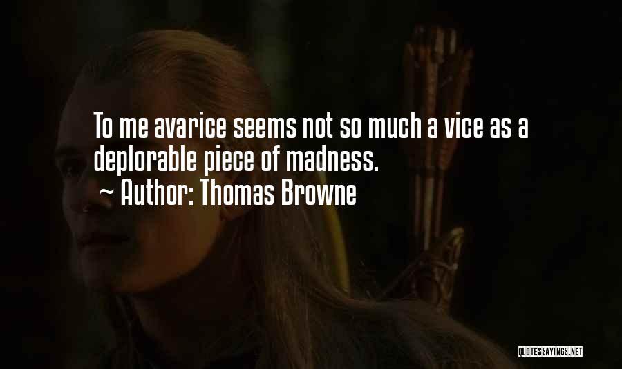 Thomas Browne Quotes 1085540