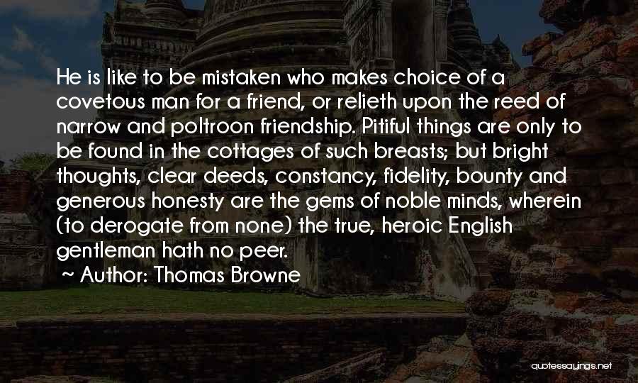 Thomas Browne Quotes 1167370