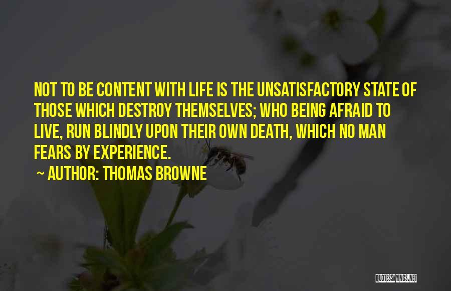 Thomas Browne Quotes 120821