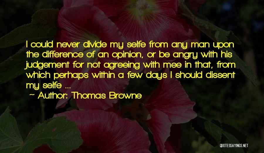Thomas Browne Quotes 1212715
