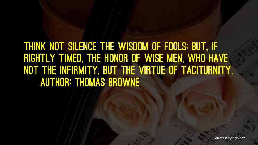 Thomas Browne Quotes 1248699