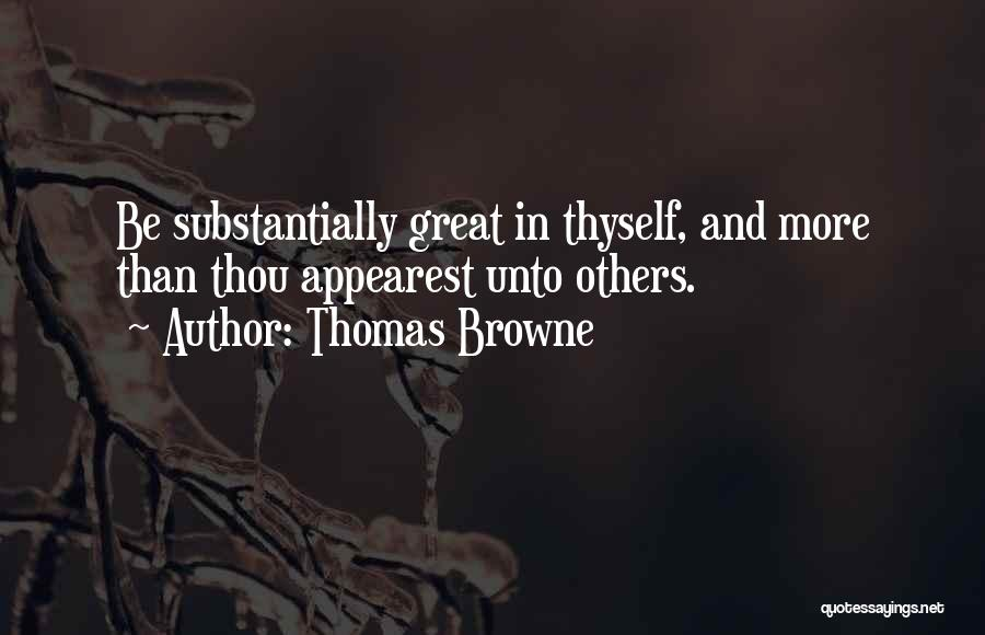 Thomas Browne Quotes 1283776