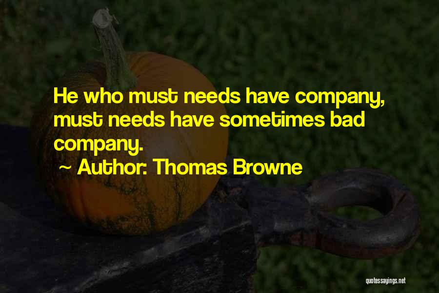 Thomas Browne Quotes 1560705