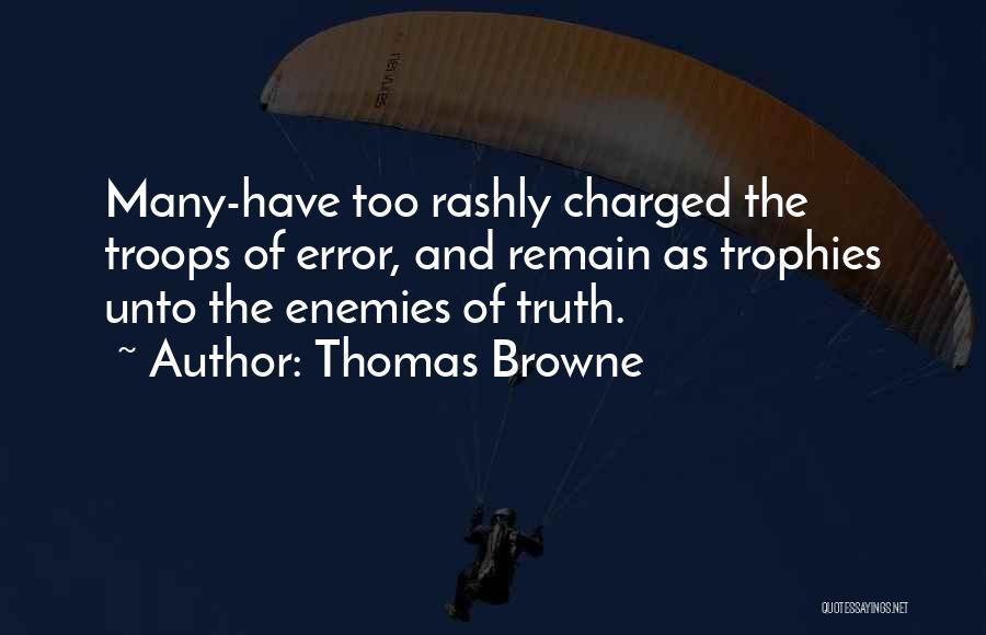 Thomas Browne Quotes 1594382
