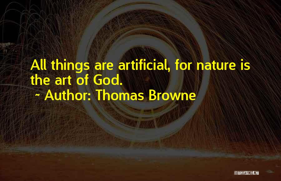 Thomas Browne Quotes 1680349
