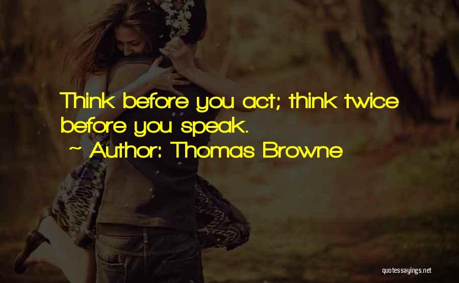 Thomas Browne Quotes 1682977