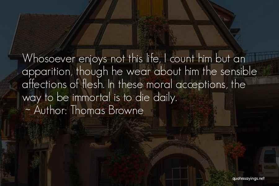 Thomas Browne Quotes 1968544