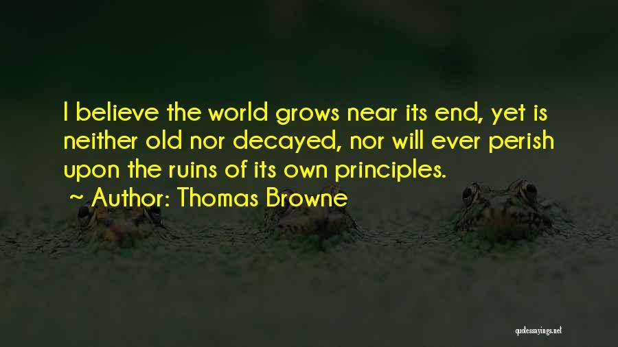 Thomas Browne Quotes 2127791