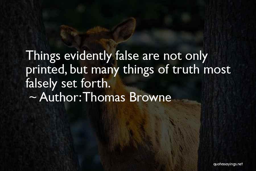 Thomas Browne Quotes 2254064