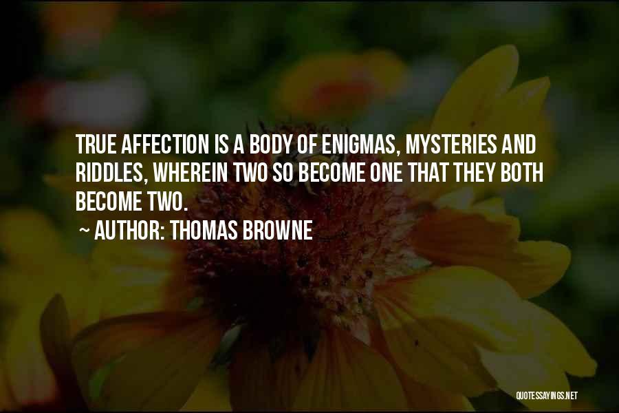 Thomas Browne Quotes 246292