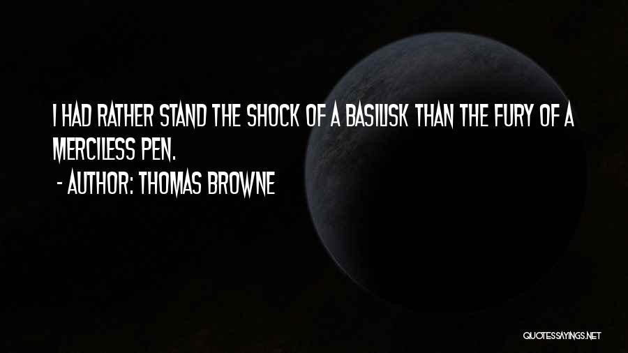 Thomas Browne Quotes 269452