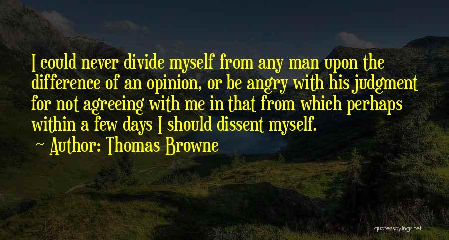 Thomas Browne Quotes 382761