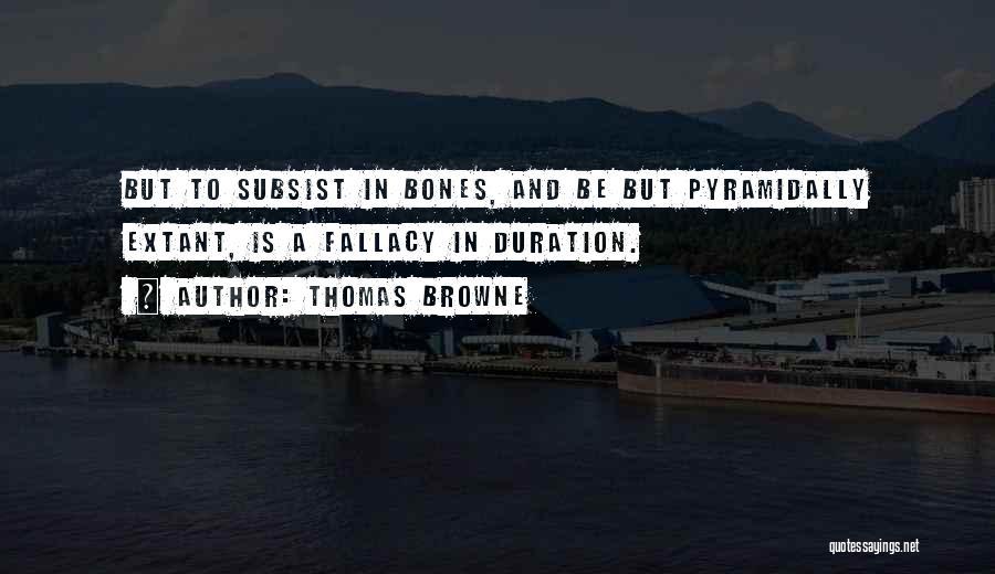 Thomas Browne Quotes 383492
