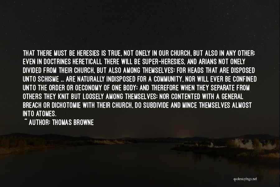 Thomas Browne Quotes 450496