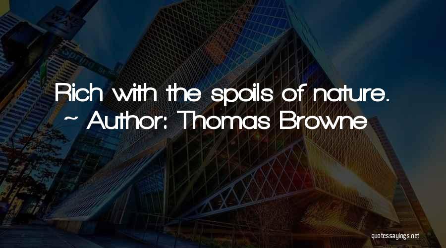 Thomas Browne Quotes 520958