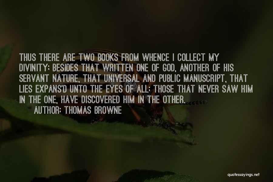 Thomas Browne Quotes 615854