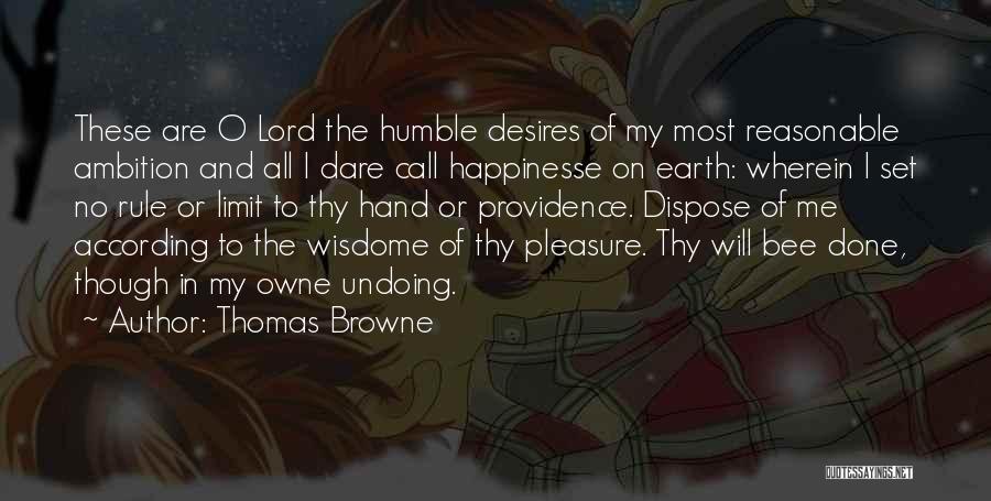 Thomas Browne Quotes 666022