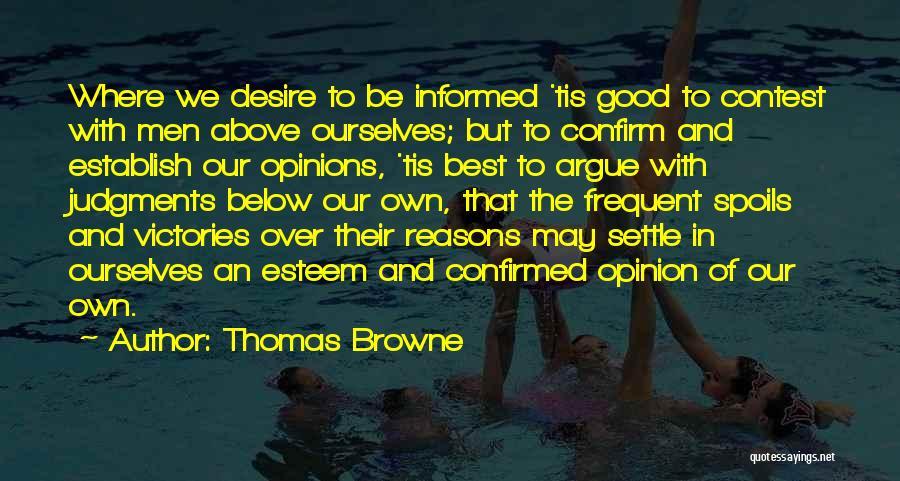 Thomas Browne Quotes 680025