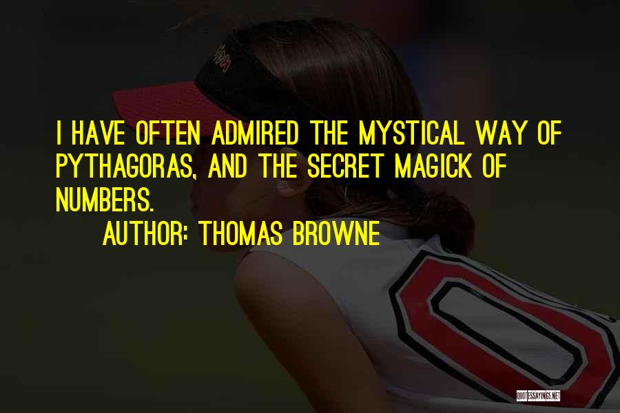Thomas Browne Quotes 772859