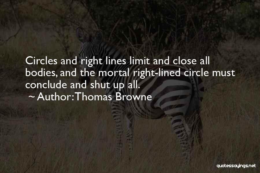 Thomas Browne Quotes 785718