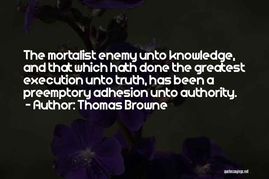 Thomas Browne Quotes 861720