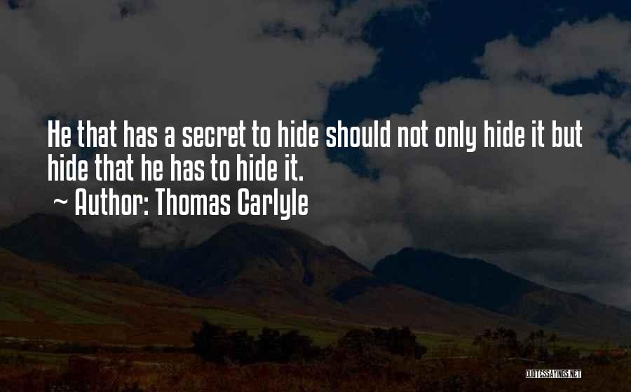 Thomas Carlyle Quotes 1334954