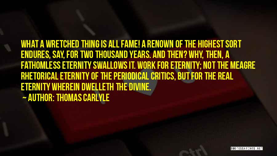 Thomas Carlyle Quotes 1536551